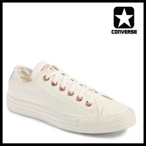 CONVERSE STYLISH SUEDE LO OX SNEAKERS Oxfords